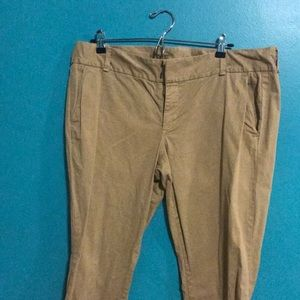 J crew tan pants